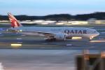 OMAさんが、成田国際空港で撮影したカタール航空カーゴ 777-FDZの航空フォト(飛行機 写真・画像)