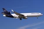 BTYUTAさんが、フランクフルト国際空港で撮影したルフトハンザ・カーゴ MD-11Fの航空フォト(写真)