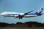 tassさんが、成田国際空港で撮影した全日空 747-481の航空フォト(写真)