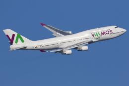 多摩川崎2Kさんが、羽田空港で撮影したワモス・エア 747-4H6の航空フォト(写真)