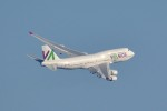 トロピカルさんが、羽田空港で撮影したワモス・エア 747-4H6の航空フォト(飛行機 写真・画像)