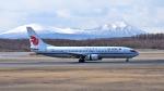 mojioさんが、新千歳空港で撮影した中国国際航空 737-8Q8の航空フォト(飛行機 写真・画像)