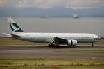 ハピネスさんが、中部国際空港で撮影したキャセイパシフィック航空 777-267の航空フォト(飛行機 写真・画像)