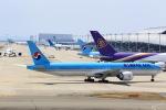 T.Sazenさんが、関西国際空港で撮影した大韓航空 777-3B5/ERの航空フォト(飛行機 写真・画像)
