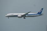 KKiSMさんが、香港国際空港で撮影した全日空 787-9の航空フォト(写真)