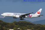 いおりさんが、福岡空港で撮影した日本航空 777-246の航空フォト(写真)