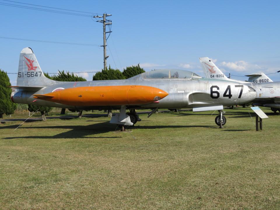 7915さんの航空自衛隊 Lockheed T-33 Shooting Star (51-5647) 航空フォト