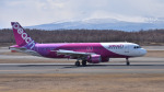 mojioさんが、新千歳空港で撮影したピーチ A320-214の航空フォト(飛行機 写真・画像)