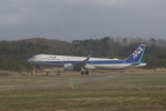 Mitsuki1211さんが、能登空港で撮影した全日空 A321-272Nの航空フォト(写真)