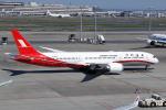 菊池 正人さんが、羽田空港で撮影した上海航空 787-9の航空フォト(写真)