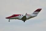 おこじょさんが、福岡空港で撮影したHONDA AVIATION SERVICE CO INC HA-420 HondaJetの航空フォト(写真)