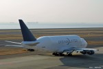 やまちゃんKさんが、中部国際空港で撮影したボーイング 747-409(LCF) Dreamlifterの航空フォト(写真)
