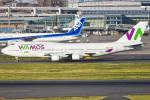 renseiさんが、羽田空港で撮影したワモス・エア 747-4H6の航空フォト(飛行機 写真・画像)