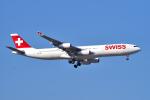 yabyanさんが、成田国際空港で撮影したスイスインターナショナルエアラインズ A340-313Xの航空フォト(写真)