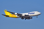 yabyanさんが、成田国際空港で撮影したポーラーエアカーゴ 747-47UF/SCDの航空フォト(写真)
