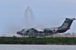 うめたろうさんが、那覇空港で撮影した航空自衛隊 EC-1の航空フォト(写真)