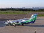 nh002nrtiadさんが、対馬空港で撮影したオリエンタルエアブリッジ DHC-8-201Q Dash 8の航空フォト(写真)
