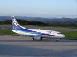nh002nrtiadさんが、対馬空港で撮影したエアーニッポン 737-5Y0の航空フォト(写真)