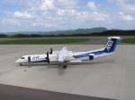 nh002nrtiadさんが、対馬空港で撮影したエアーニッポンネットワーク DHC-8-402Q Dash 8の航空フォト(写真)
