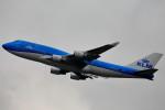 いっくんさんが、香港国際空港で撮影したKLMオランダ航空 747-406Mの航空フォト(飛行機 写真・画像)