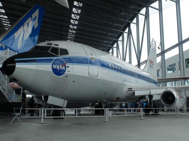 アメリカ航空宇宙局 Boeing 737-100 N515NA ミュージアム・オブ・フライト  航空フォト | by Smyth Newmanさん