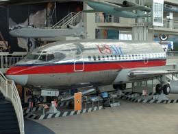 Smyth Newmanさんが、ミュージアム・オブ・フライトで撮影したUSエアウェイズ 737-200の航空フォト(飛行機 写真・画像)
