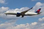 OMAさんが、成田国際空港で撮影したデルタ航空 A350-941XWBの航空フォト(写真)
