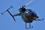 チポさんが、霞目駐屯地で撮影した陸上自衛隊 OH-6Dの航空フォト(写真)