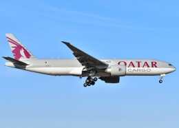 航空フォト:A7-BFC カタール航空カーゴ 777-200