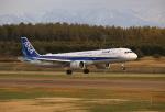 ケロさんが、庄内空港で撮影した全日空 A321-272Nの航空フォト(写真)