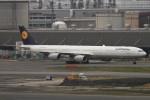 AXT747HNDさんが、羽田空港で撮影したルフトハンザドイツ航空 A340-642Xの航空フォト(写真)