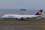 やつはしさんが、羽田空港で撮影したルフトハンザドイツ航空 747-830の航空フォト(写真)