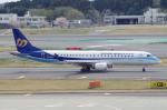 たーしょ@0525さんが、成田国際空港で撮影したマンダリン航空 ERJ-190-100 IGW (ERJ-190AR)の航空フォト(写真)