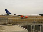 アイスコーヒーさんが、成田国際空港で撮影したスカンジナビア航空 A340-313Xの航空フォト(飛行機 写真・画像)