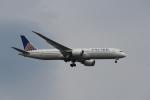 keitsamさんが、羽田空港で撮影したユナイテッド航空 787-9の航空フォト(写真)