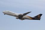 幹ポタさんが、関西国際空港で撮影したUPS航空 747-8Fの航空フォト(写真)