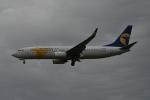 turenoアカクロさんが、成田国際空港で撮影したMIATモンゴル航空 737-8ASの航空フォト(写真)
