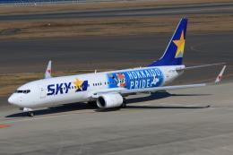 やつはしさんが、中部国際空港で撮影したスカイマーク 737-86Nの航空フォト(写真)
