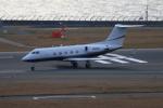 やつはしさんが、中部国際空港で撮影したアメリカ企業所有 G-1159A Gulfstream IIIの航空フォト(写真)