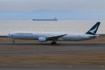 やつはしさんが、中部国際空港で撮影したキャセイパシフィック航空 777-367の航空フォト(写真)