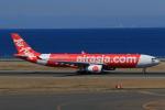 やつはしさんが、中部国際空港で撮影したタイ・エアアジア・エックス A330-343Xの航空フォト(写真)