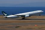 やつはしさんが、中部国際空港で撮影したキャセイパシフィック航空 A330-342の航空フォト(写真)