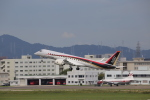 kwnbさんが、名古屋飛行場で撮影した三菱航空機の航空フォト(写真)