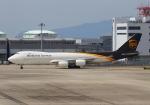 LOTUSさんが、関西国際空港で撮影したUPS航空 747-8Fの航空フォト(写真)