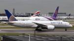 誘喜さんが、ロンドン・ヒースロー空港で撮影したユナイテッド航空 787-8 Dreamlinerの航空フォト(写真)
