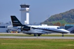 M.Mさんが、松山空港で撮影した不明 Cessna 680A Citation Latitudeの航空フォト(写真)