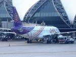 ken1☆MYJさんが、スワンナプーム国際空港で撮影したタイ・スマイル A320-232の航空フォト(写真)