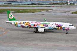 sky77さんが、那覇空港で撮影したエバー航空 A321-211の航空フォト(写真)