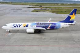 sky77さんが、那覇空港で撮影したスカイマーク 737-81Dの航空フォト(写真)