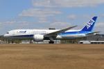 ぽんさんが、広島空港で撮影した全日空 787-8 Dreamlinerの航空フォト(写真)